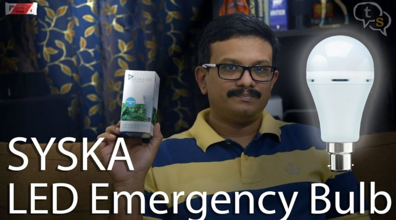 syska led emergency light
